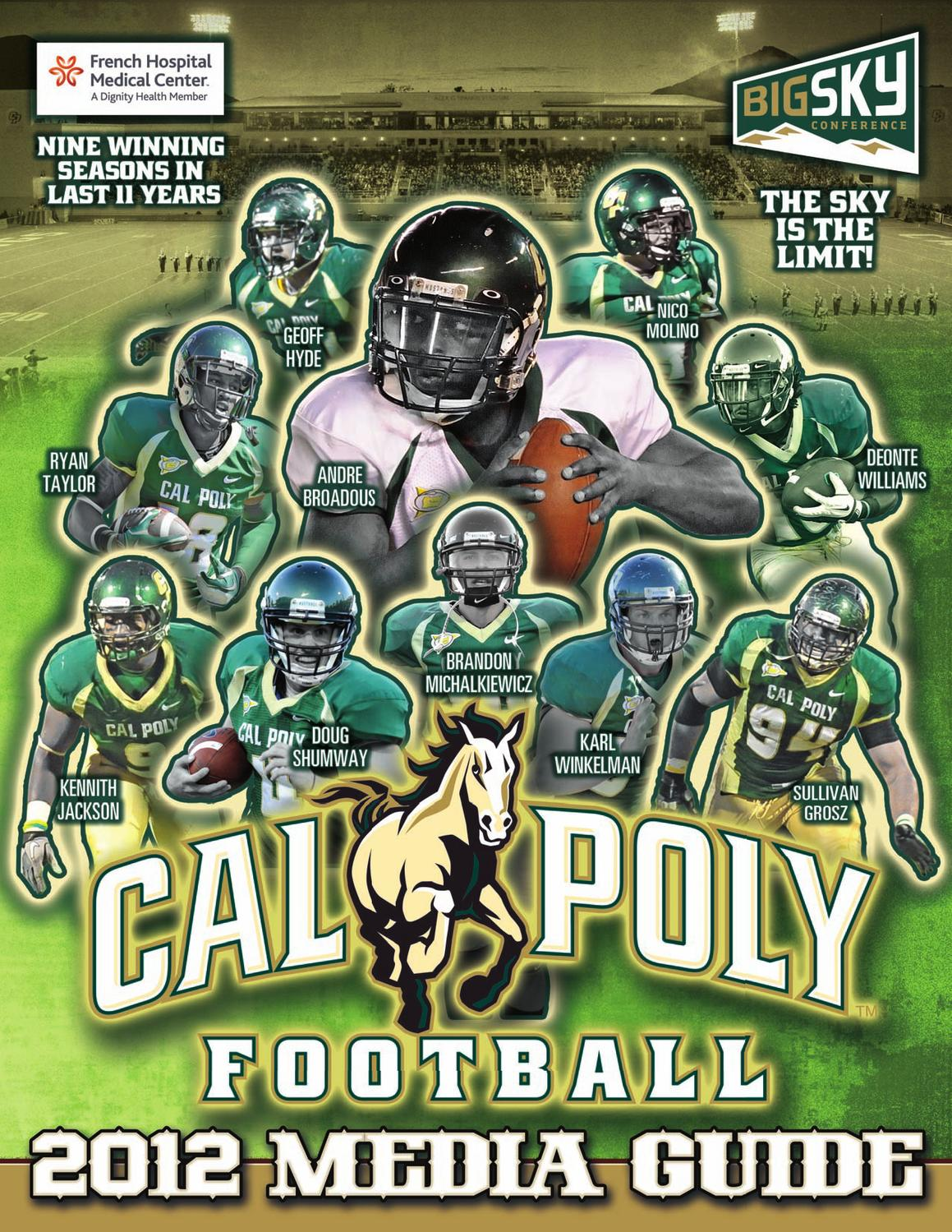 2012 Cal Poly Football Media Guide by Cal Poly Athletics - issuu b496fe917