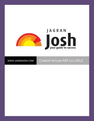 Jargan Josh Magazine July 2012 by Kuwait News - issuu