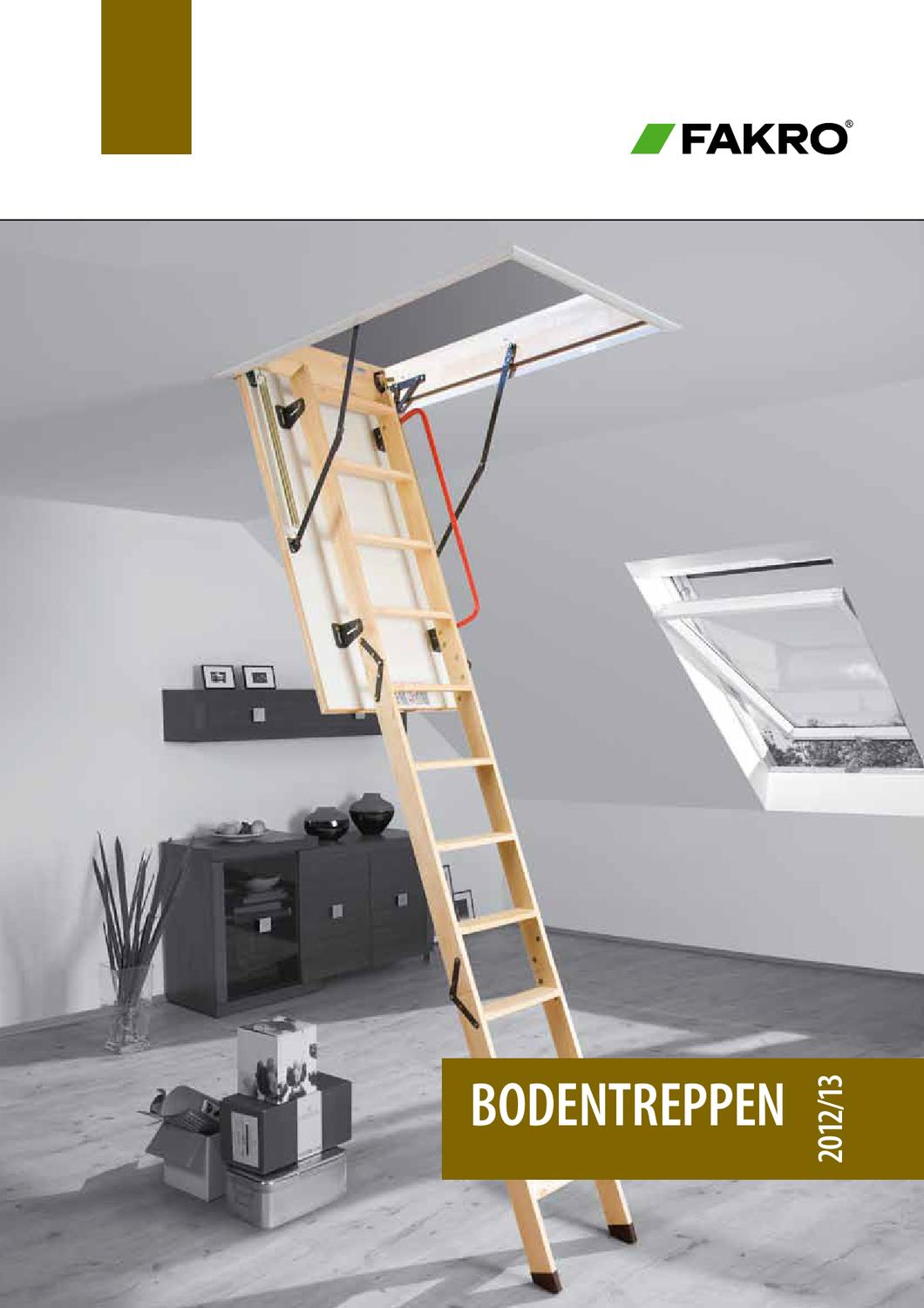 Dachbodentreppe Gedämmte Bodentreppe Dachtreppe EINFACHE MONTAGE LWS SMART