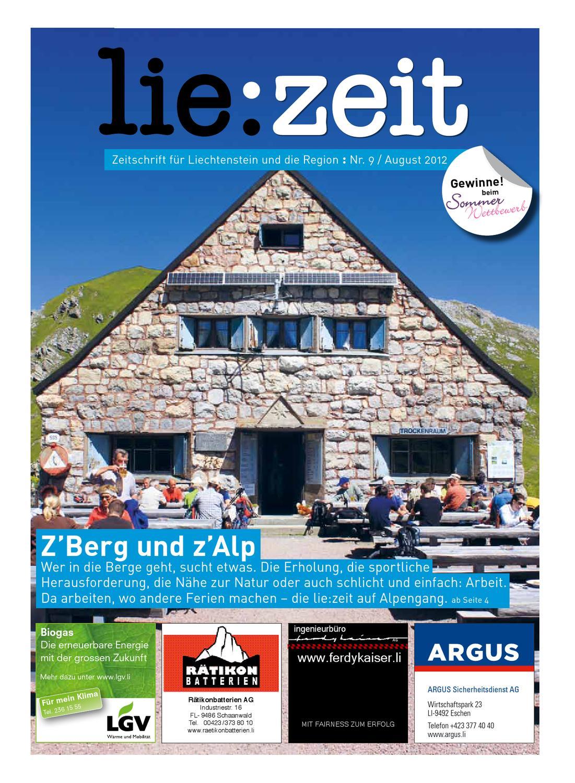 lie:zeit Ausgabe #9 by Medienbüro Oehri & Kaiser AG - issuu