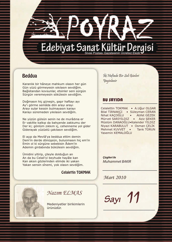 Poyraz Edebiyat Sayi 11 By Yusuf Bal Issuu