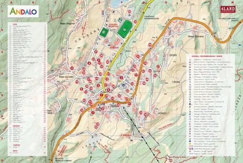Mappa di Andalo by Azienda per il turismo Dolomiti Paganella - issuu
