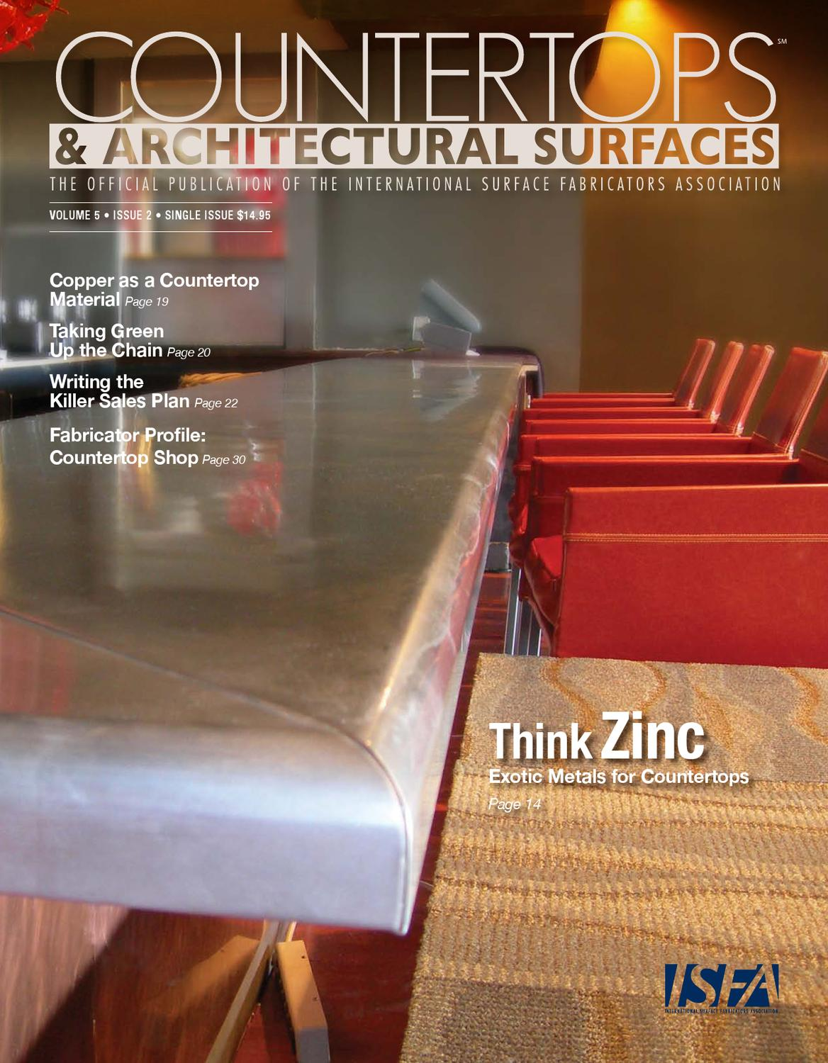 isfa countertops architectural surfaces vol 5 issue 2 by isfa issuu