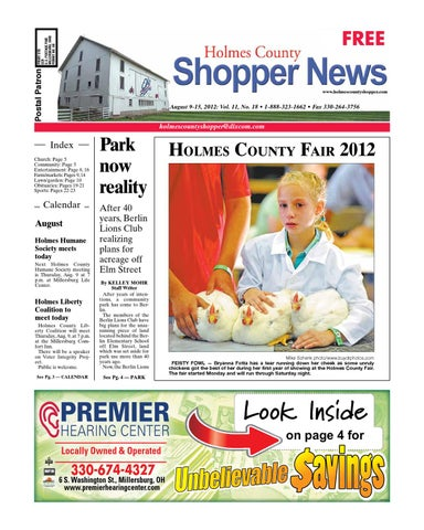 Holmes county shopper aug 9 2012 by gatehouse media neo issuu page 1 fandeluxe Image collections