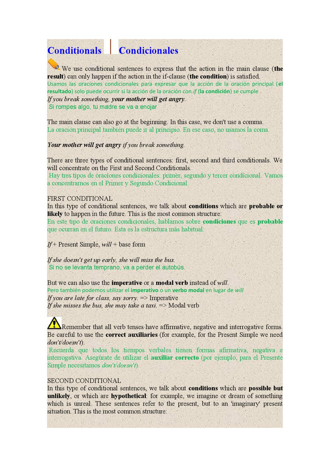 Conditionals By Jorge Casiani Issuu