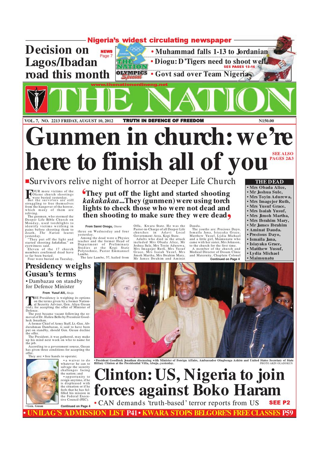 The Nation August 10, 2012 by The Nation - issuu