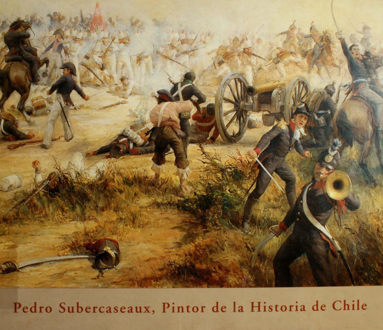 Pedro Subercaseaux Pintor De La Historia De Chile By Juan Jose  # Muebles Subercaseaux