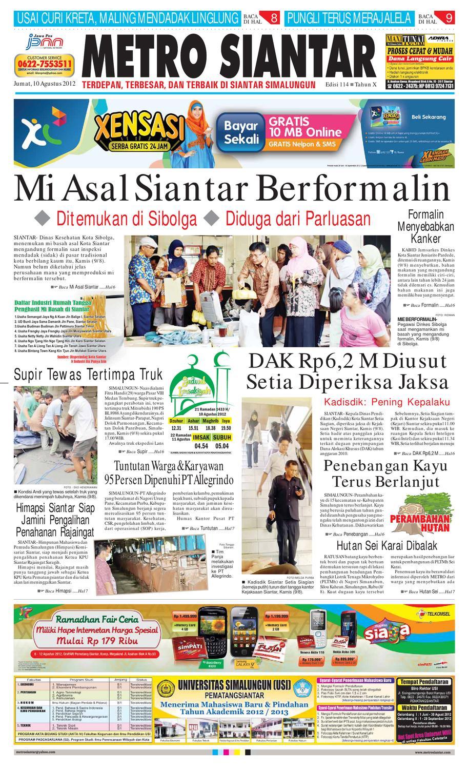 Epaper Metro Siantar By Issuu Produk Ukm Bumn Dress Gamis Batik Motif Ayam Bekisar