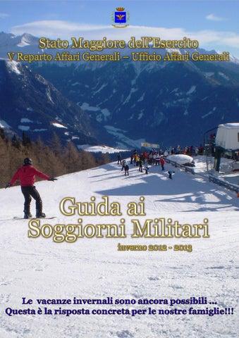 Guida ai Soggiorni Militari inverno 2012/2013 by federico ...