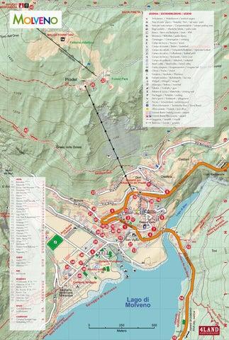 Cartina Geografica Dolomiti.Mappa Di Molveno By Azienda Per Il Turismo Dolomiti Paganella Issuu