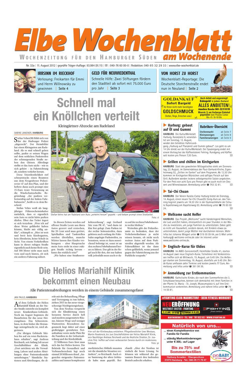 Wochenende KW32 by Elbe Wochenblatt Verlagsgesellschaft mbH & Co.KG - issuu