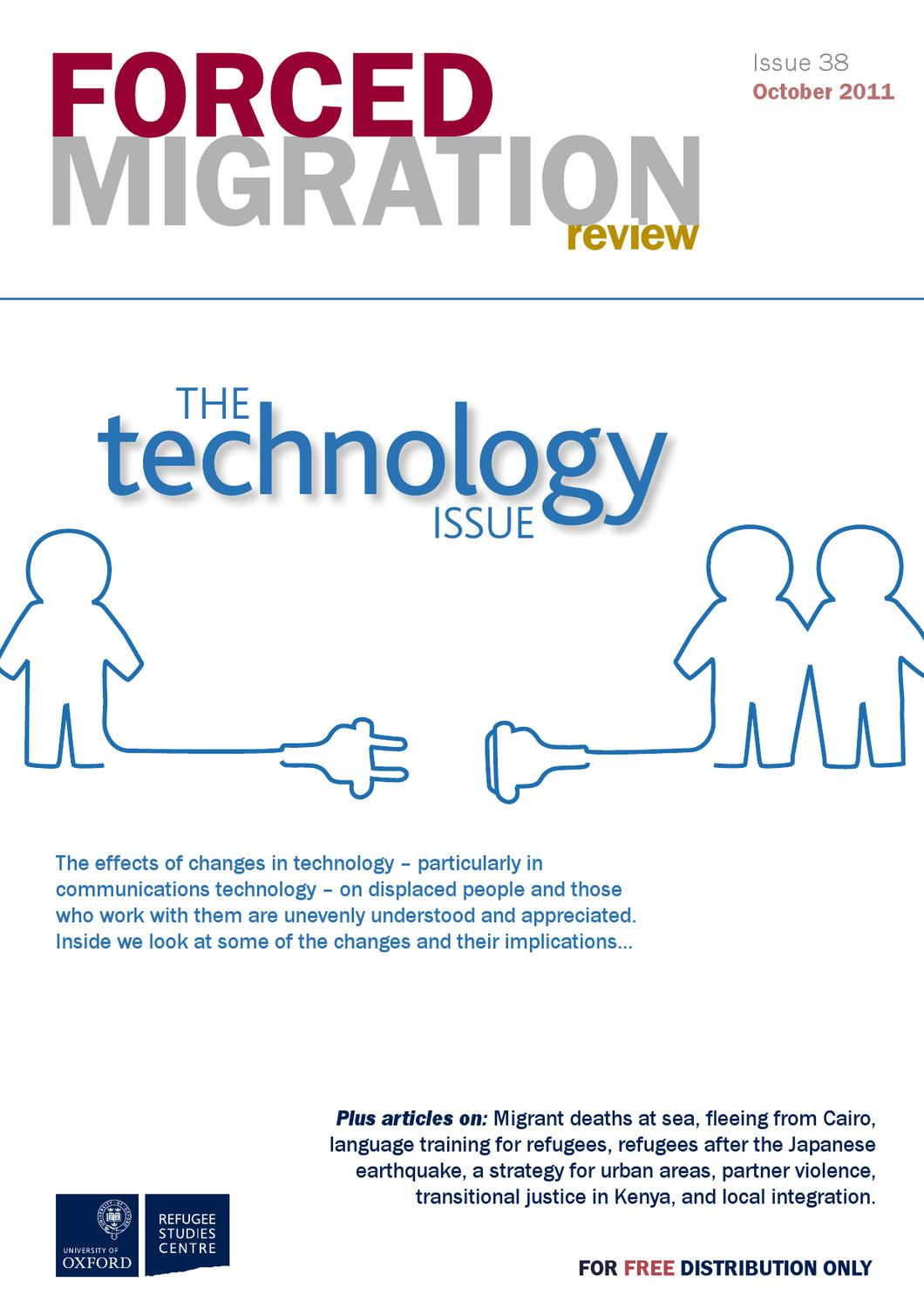 forced migration review issue 38 by forced migration review issuu rh issuu com