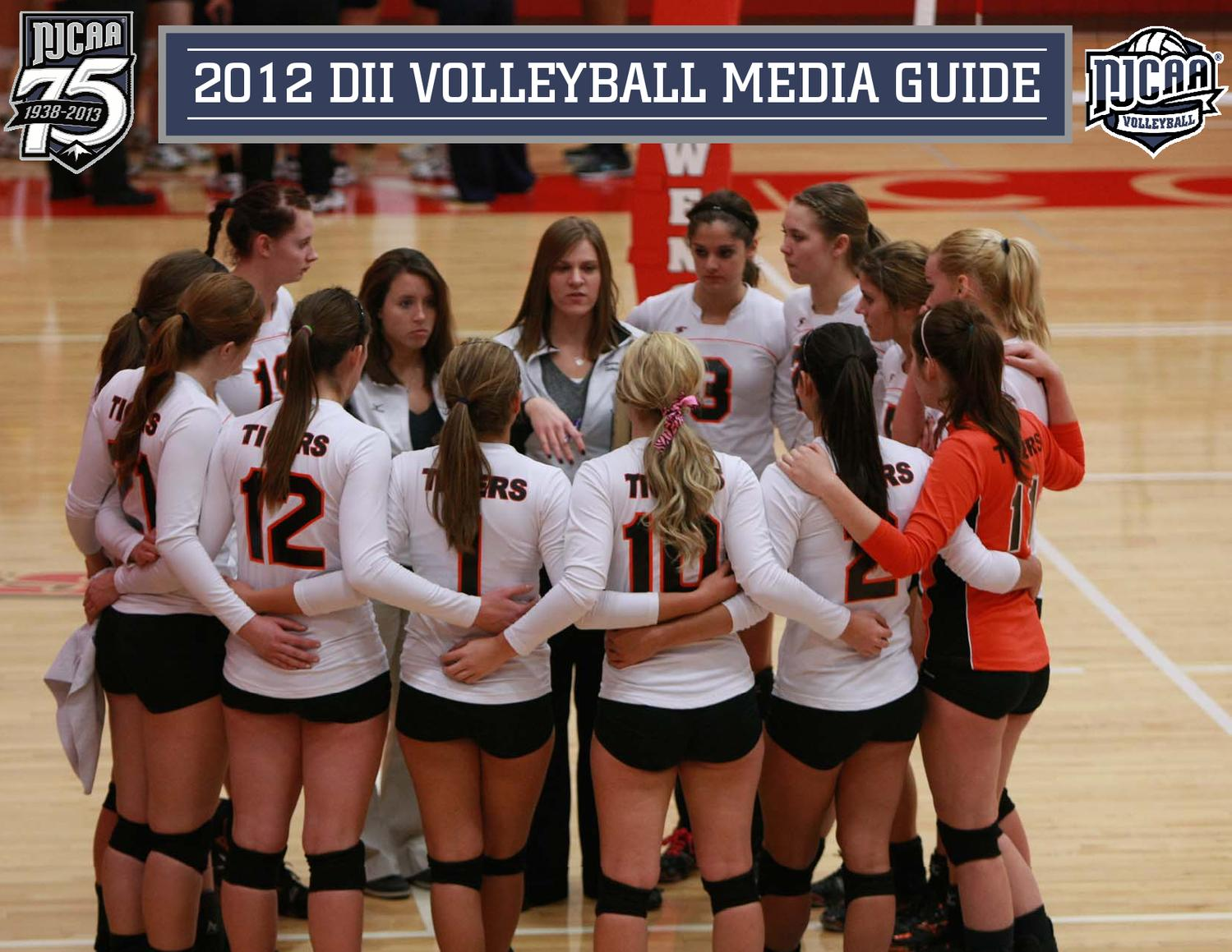 2012 Njcaa Dii Volleyball Media Guide By Mark Krug Issuu
