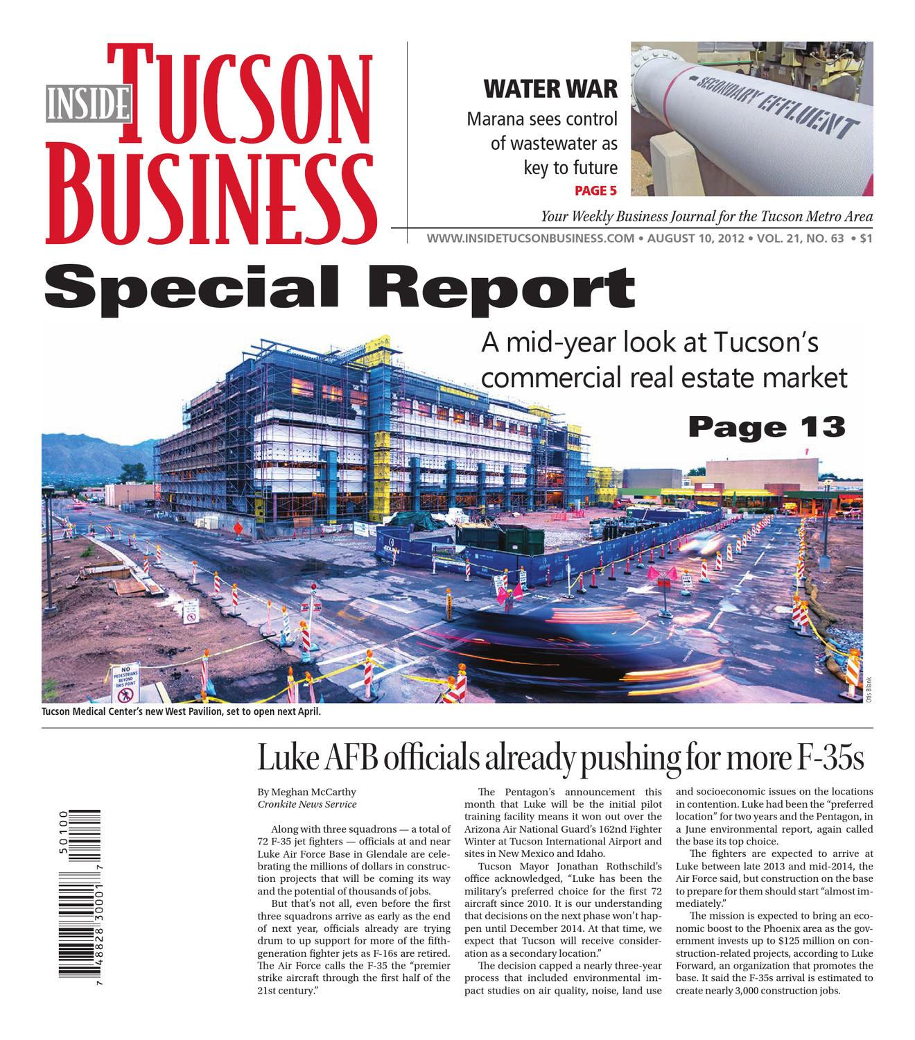 Inside Tucson Business 08 10 12 by Territorial Newspapers issuu