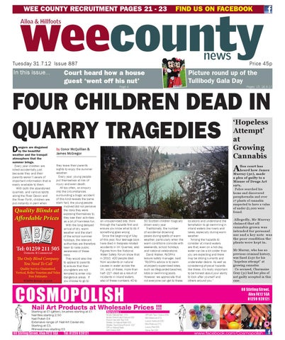 74b2a062be8 Thr Wee County News - Issue 887 by Vicki O Hare - issuu