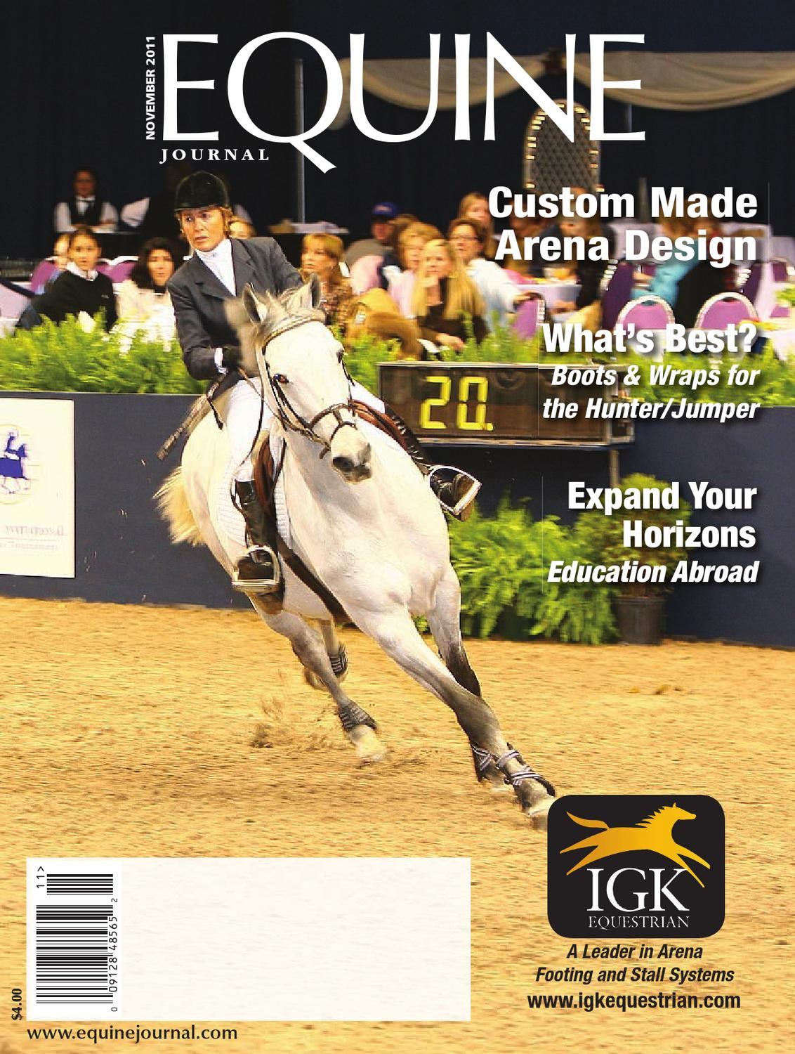0ad79d65e95 Equine Journal (November 2011) by Equine Journal - issuu