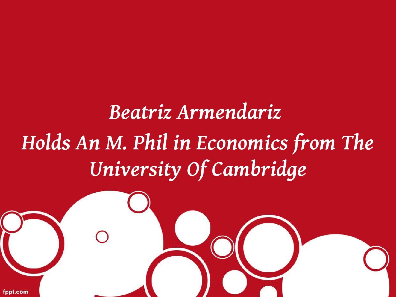 Dissertation economics cambridge