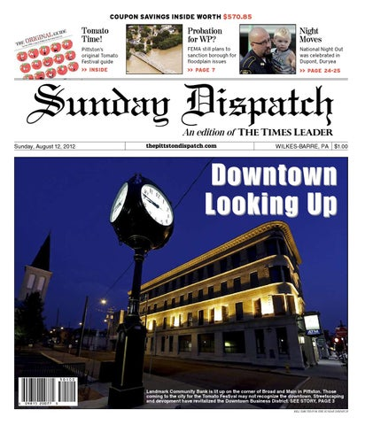 The Pittston Dispatch 08-12-2012 by The Wilkes-Barre Publishing ... 446e0e1ca