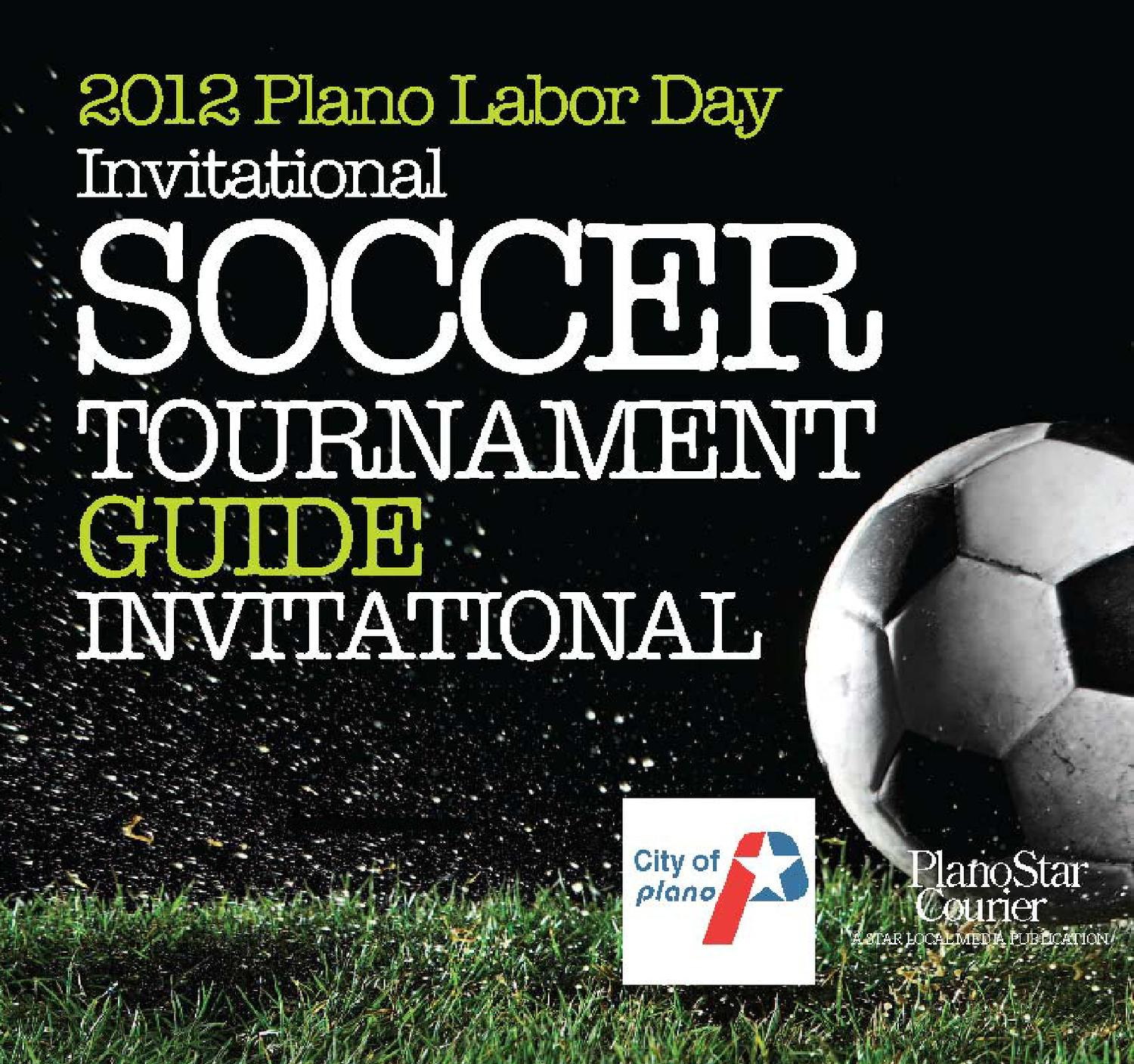 2012 Plano Labor Day Invitational Soccer Tournament By Nick Souders