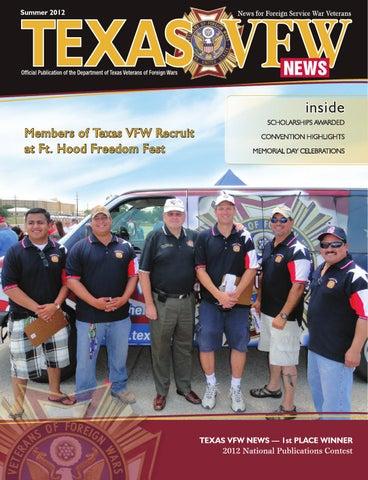 2012 Summer Texas Vfw News By Medianation Issuu