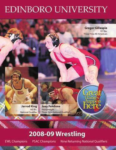 3b823938ae2c 2008-09 Wrestling Media Guide by Edinboro University - issuu