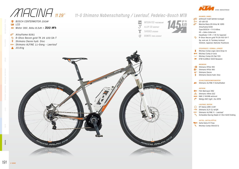Catálogo de KTM 2013