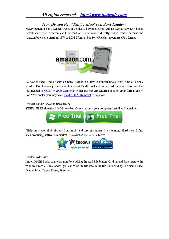 Download reader epub format free