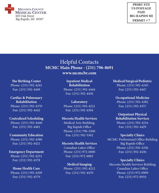 MCMC Medical Staff Directory by Spectrum Health Big Rapids