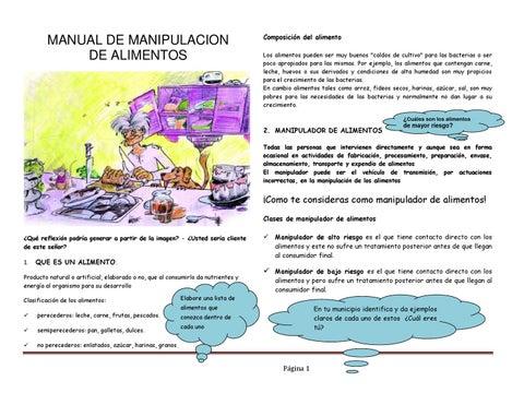 Actividad manual de manipulacion by articulacion lagranja - Carne manipulacion de alimentos ...
