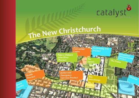 Christchurch city blueprint by catalyst recruitment limited issuu page 1 malvernweather Image collections