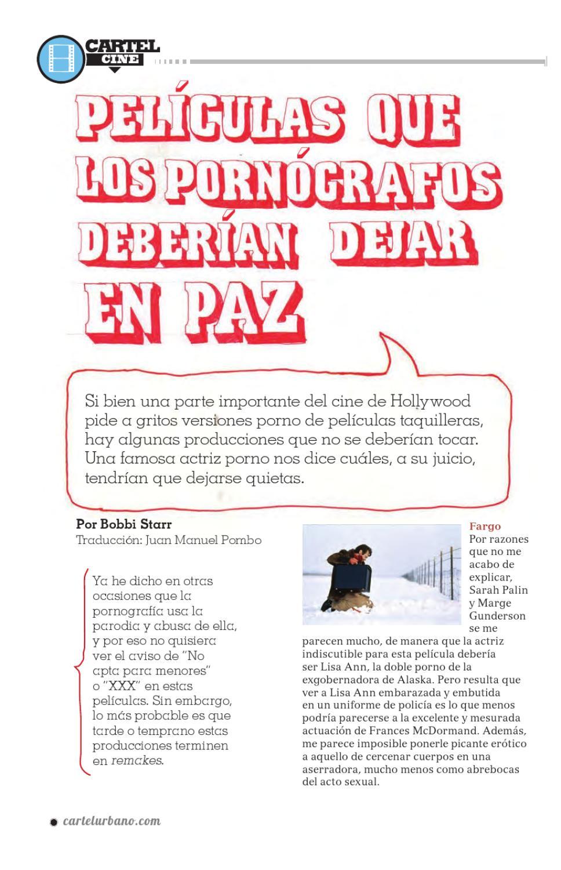 Actriz Porno Bobbi edición 42cartel urbano - issuu