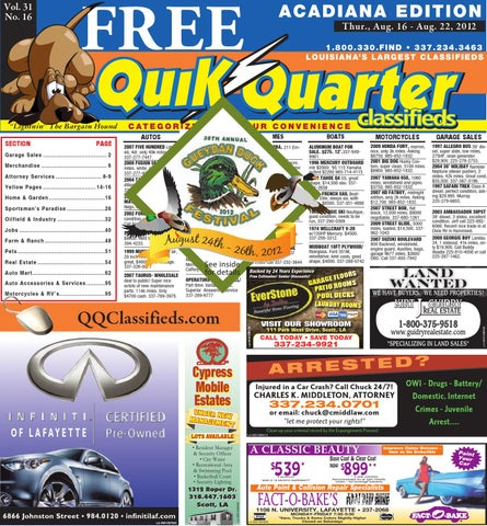 Qq acadiana by part of the usa today network issuu page 1 fandeluxe