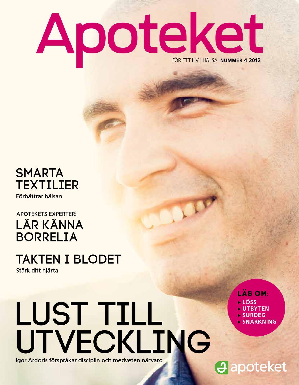 Tidningen Apoteket - Nummer 4 2012 by Apoteket AB - issuu cd7eb53520b70