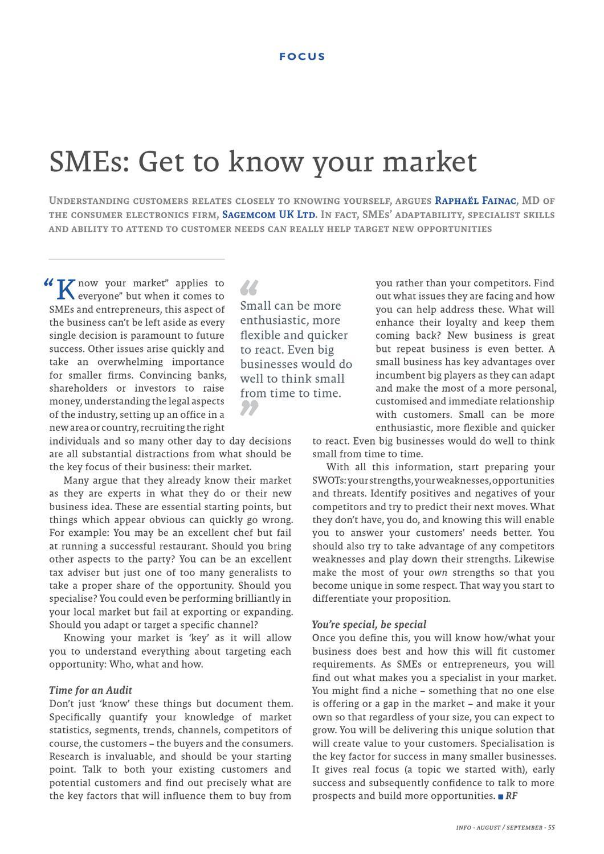 SMEs & Entrepreneurs