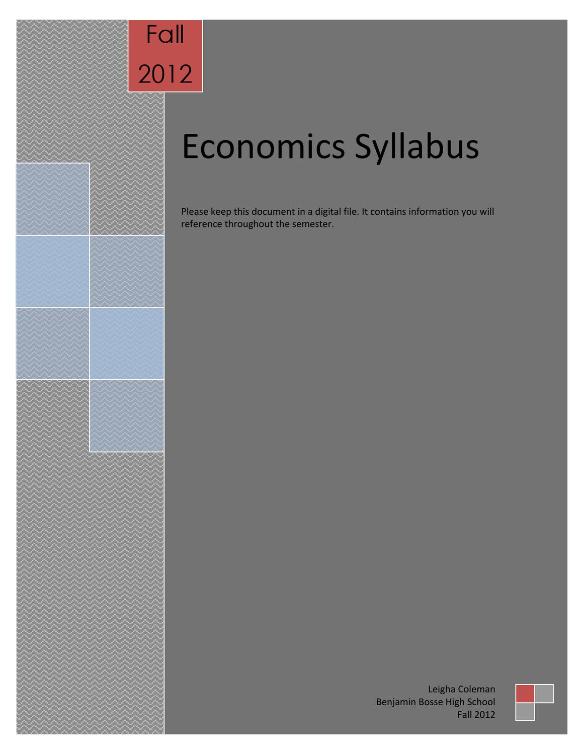 econ syllabus Mit economics courses available online and for free.