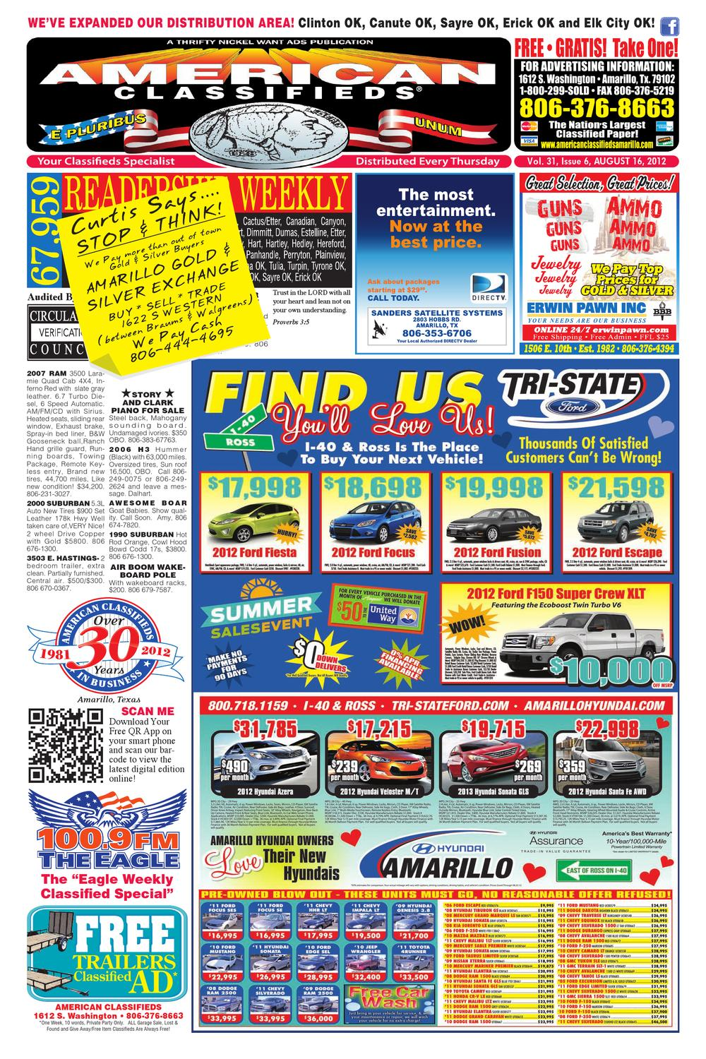 american classifieds amarillo, tx august 16, 2012 by americanamerican classifieds amarillo, tx august 16, 2012 by american classifieds issuu
