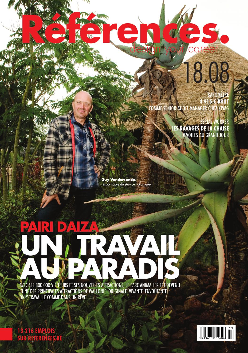 pairi daiza  un travail au paradis by jobs  u0026 careers cv