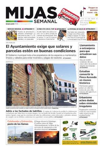 9da00ab6fea Mijas Semanal nº492 del 17 al 23 de agosto de 2012 by Mijas Semanal ...