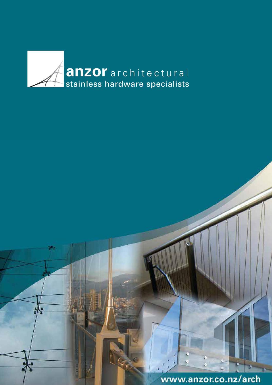 Anzor Architectural Catalogue by Anzor Fasteners Australia - issuu