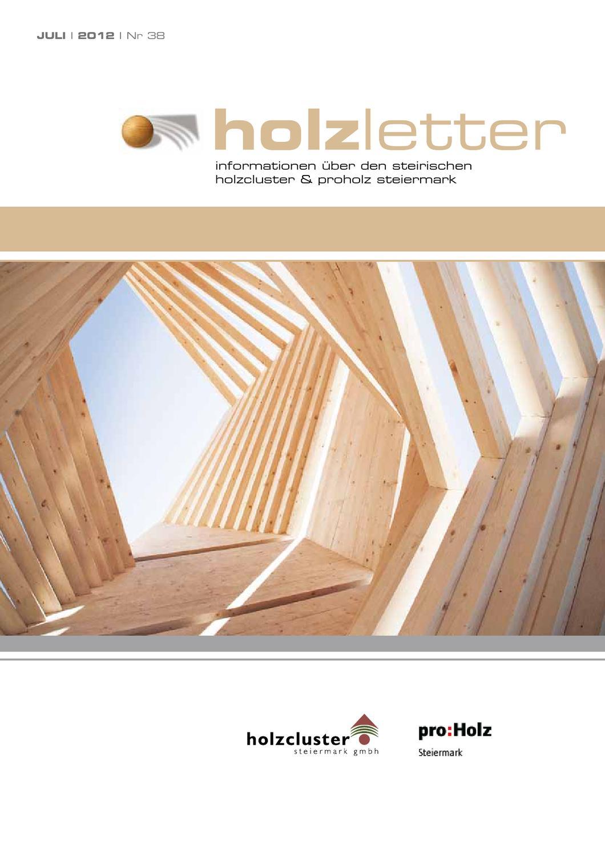 Holzletter 38 By Proholz Steiermark Issuu