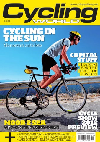 Cycling World - August September 2012 by Vortex Creative Ltd - issuu 8c0d6eaf1
