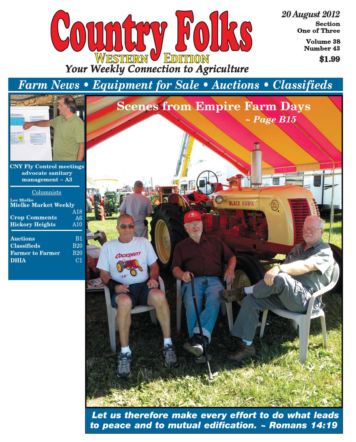 Country Folks West 82012 By Lee Publications Issuu Evtv Motor Verks Store Connecticut Electric 50 Amp 120240 Volt Power