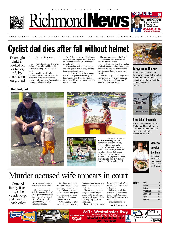 4394db3ce2b4df Richmond News August 17 2012 by Glacier Digital - issuu