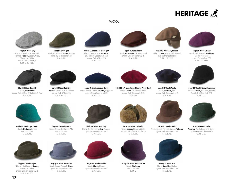 Camo  KANGOL  Wool  504  Earlap  Cap  Style 0238KG