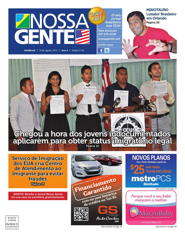 Nossa Gente 65 by Nossa Gente - issuu 9b0fad62e0
