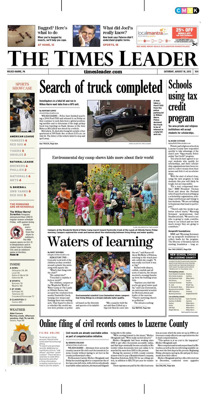 4dbaa0de7c Times Leader 08-18-2012 by The Wilkes-Barre Publishing Company - issuu