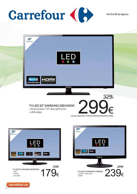 catalogo de precios de televisores samsung en carrefour by issuu. Black Bedroom Furniture Sets. Home Design Ideas