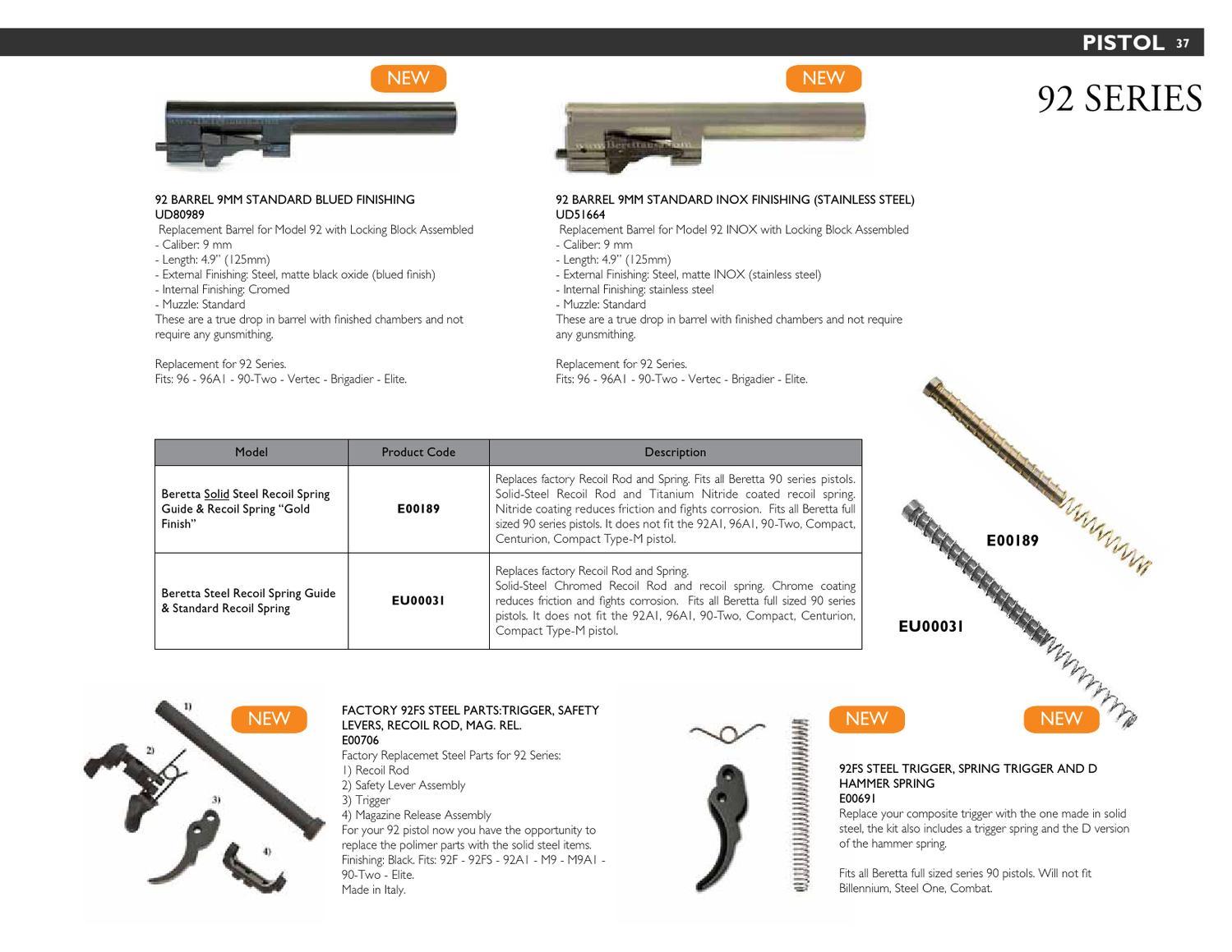 Beretta Accessories & Gun Accessories 2013 by Beretta USA