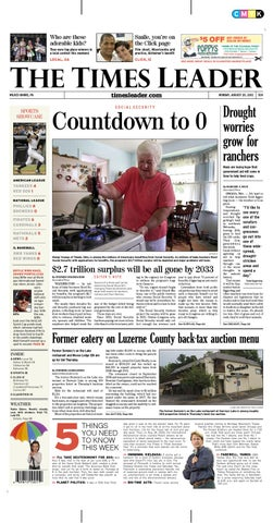 6c5cf007b1b32 Times Leader 08-20-2011 by The Wilkes-Barre Publishing Company - issuu