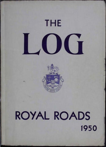 508314d1840dc 1950 Log Canadian Services College Royal Roads by Royal Roads ...
